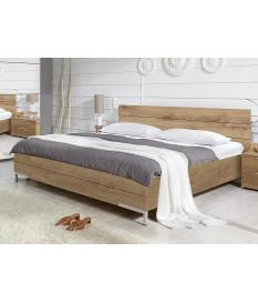lit double 140x200 cm pour chambre adulte