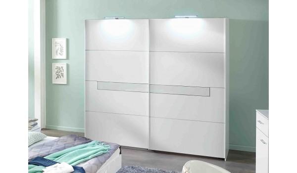 armoire triple penderies blanche meuble design