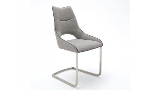 chaise design en tissu 6 coloris