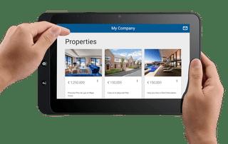sCRM - Property Sales - Tablet