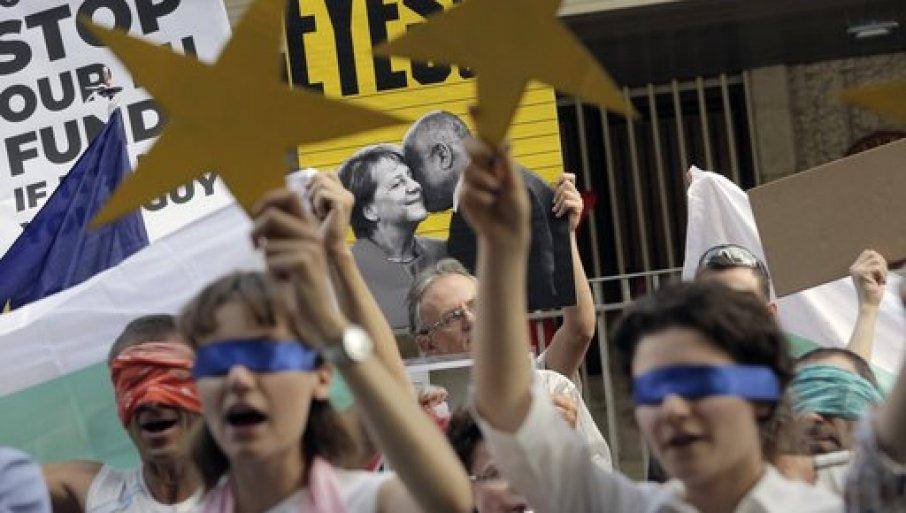 ПРОТЕСТИ ВО БУГАРИЈА ДЕН 37: Блокирани се клучните пресеци во Софија