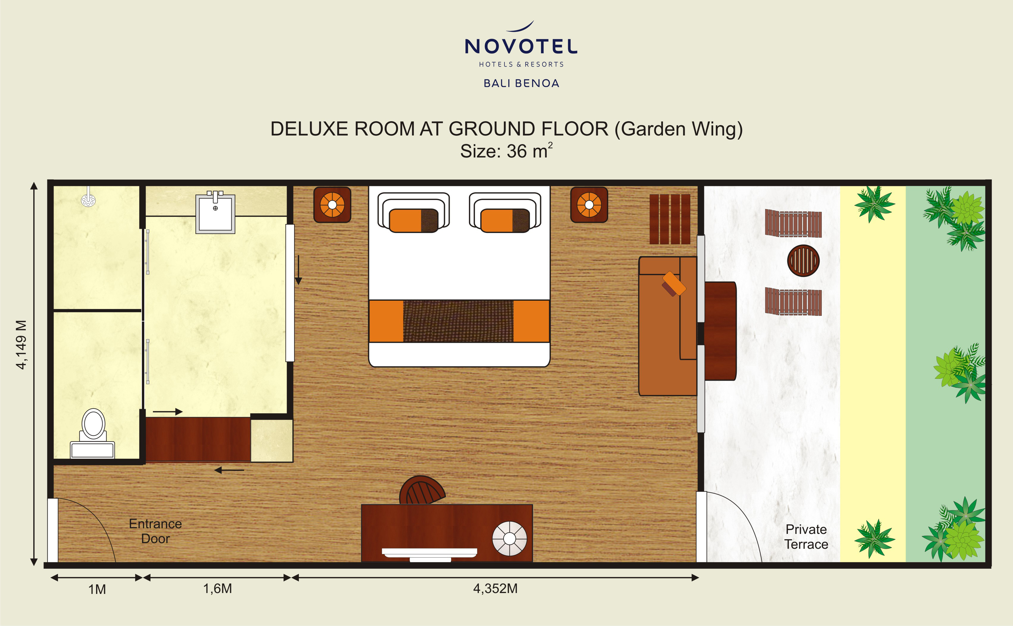 Deluxe Room  NOVOTEL BALI BENOA HOTELS  RESORTS