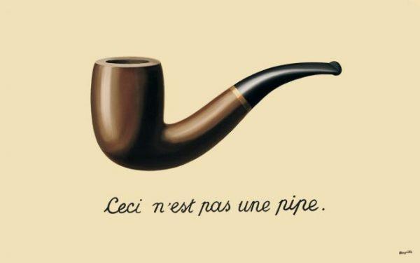 Surréalisme non-duel: une histoire de pipe.