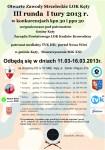 2013-03-07 Plakat III runda I turyMAŁY