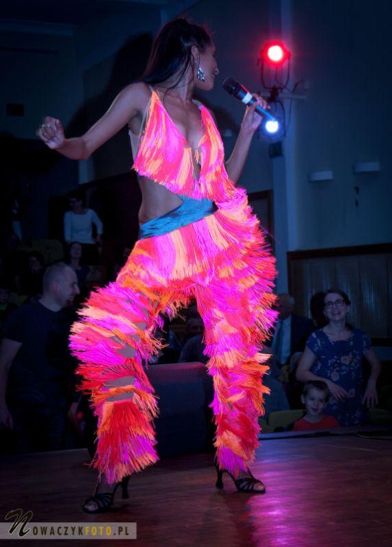 Pokazy tańca latynoamerykańskiego