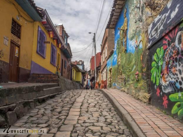 Wycieczka po ozdobionych graffiti uliczkach Bogoty, Kolumbia