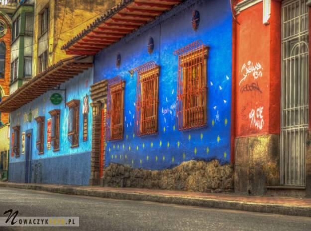 Wycieczka po kolorowych uliczkach Bogoty, Kolumbia