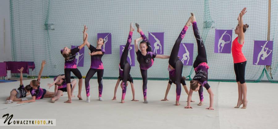 Pokaz gimnastyki artystycznej