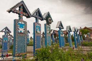 Wesoły cmentarz, Rumunia