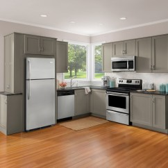 Kitchen Appliance Packages Stainless Steel Remodelled Kitchens Before And After Package Deals Nowappliance Com 4 Apt Size Pkg Avanti 20 Inch Gas Range Oven Window Glass 18 Interior Dishwasher 10cf Top Mounted Freezer
