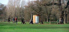 nowato: Trockentoilette Kazuba KL2 barrierefrei, Golfplatz