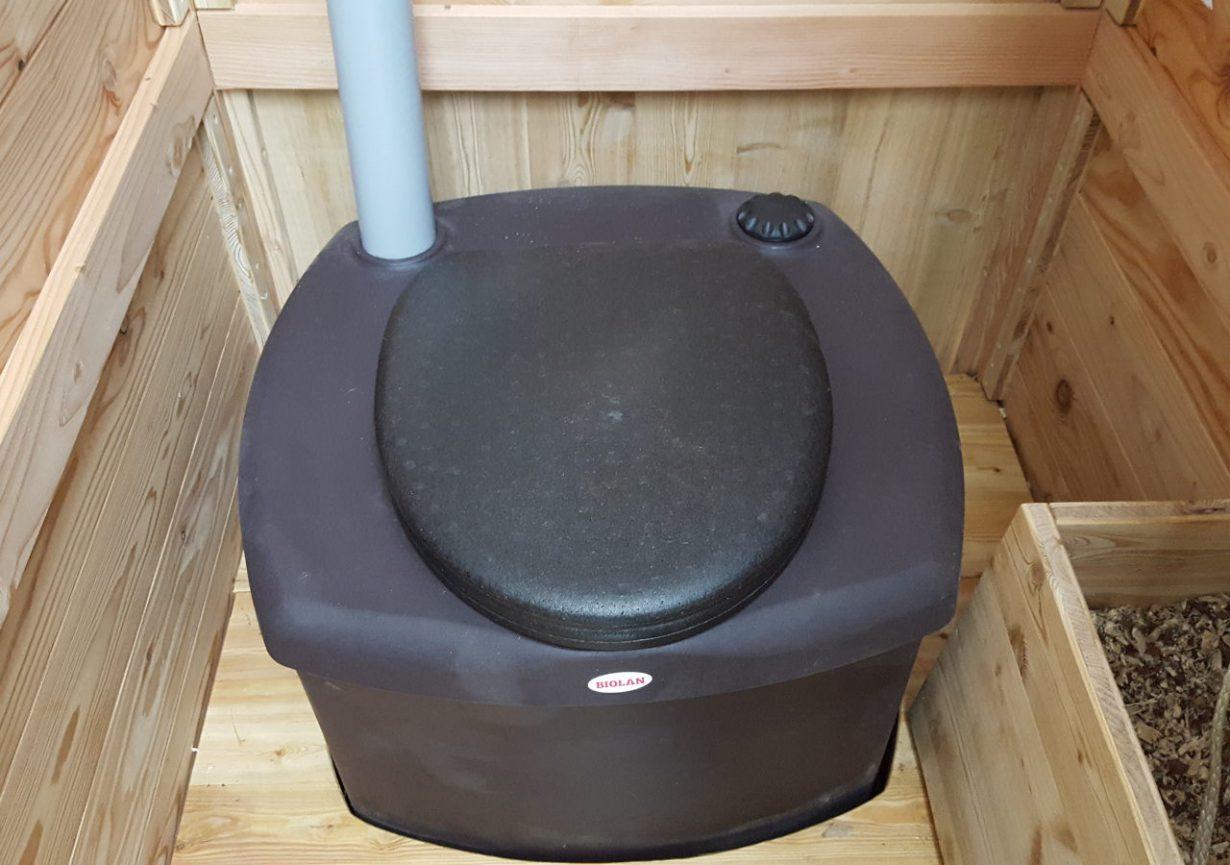Header nowato Komposttoilette, Waldkindergarten. Mit Biolan eco