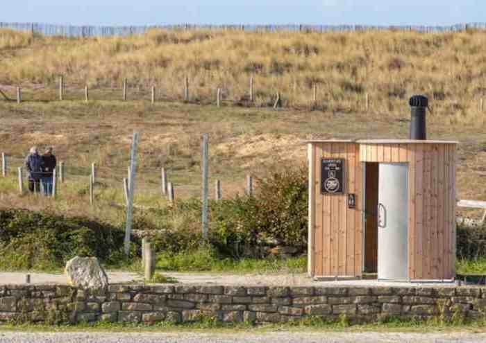 Kazuba KL2 barrierefrei mit Urinal - Strandpromenade