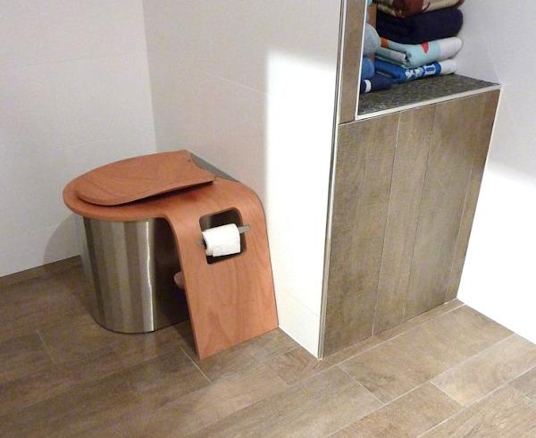 nowato · Trenntoilette ECODOMEO mit Betriebsraum im Wohnhaus - Modell ZIRCONE
