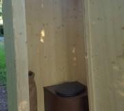 nowato Komposttoilette Modell 'Heide' · Innenraum