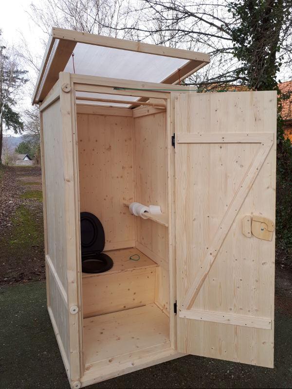 Komposttoilette 'Wiese' aus Fichte