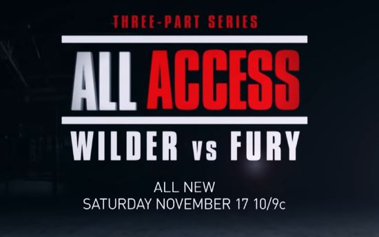 VIDEO: ALL ACCESS Wilder vs. Fury Premieres November 17 on Showtime