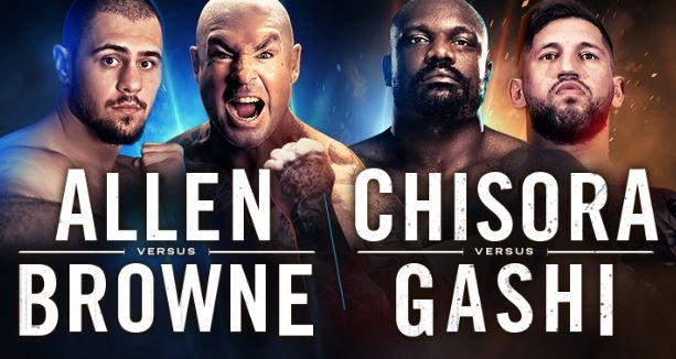 WATCH Dave Allen vs Lucas Browne, Dereck Chisora vs Senad Gashi Live Online