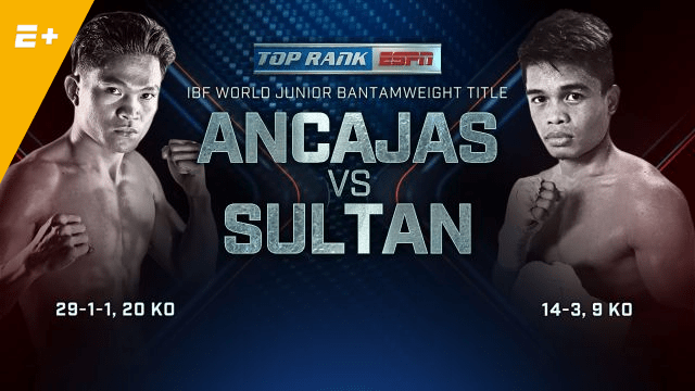 Jerwin Ancajas vs Jonas Sultan and Kal Yafai vs David Carmona Live Stream on ESPN+