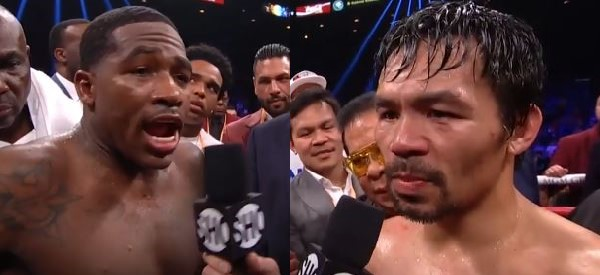 Video: Adrien Broner claims he beat Manny Pacquiao in post fight interview