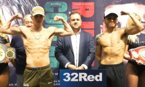 Mick Conlan Ruiz weigh in