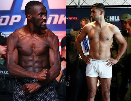 WATCH Crawford vs Khan Weigh-In Live Stream and Video Replay