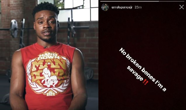 Errol Spence Jr charged with DWI in connection with high-speed accident