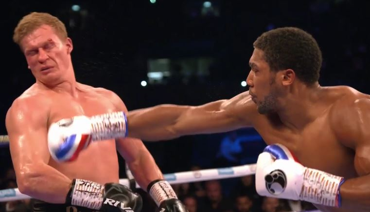 Anthony Joshua stops Povetkin in 7, proves he is the number one heavyweight