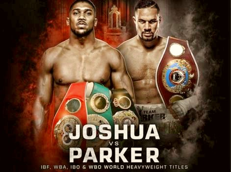 Watch Anthony Joshua vs Joseph Parker Heavyweight Championship Live Online