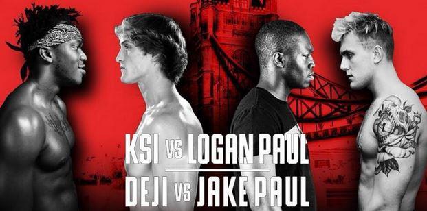 Watch KSI vs Logan Paul Official Live YouTube Video Stream