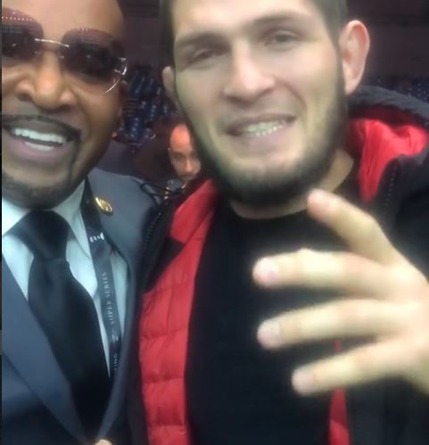 UFC Champ Khabib Nurmagomedov issues challenge to Floyd Mayweather on Instagram