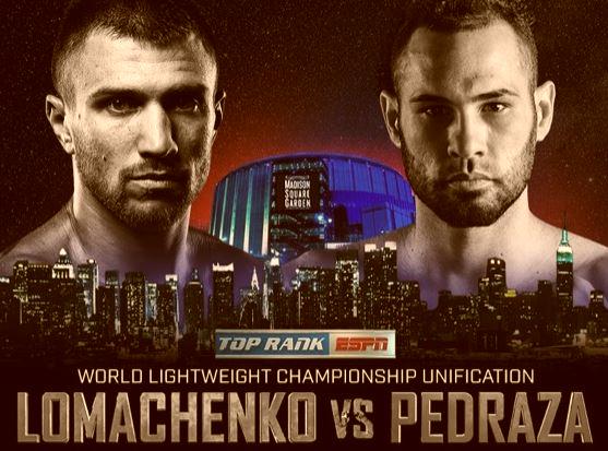Watch Lomachenko vs Pedraza, Dogboe vs. Navarrete, Teofimo Lopez LIVE online