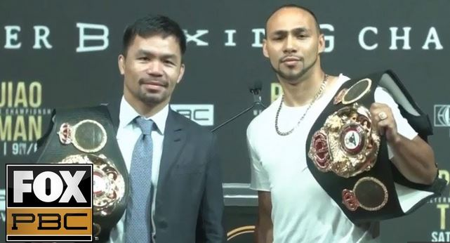 Live Stream Video: Manny Pacquiao vs. Keith Thurman LA Press Conference