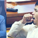Pacquiao laugh and yawn