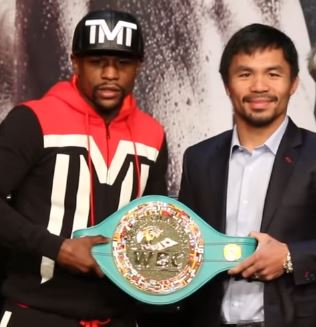 Mayweather steals attention from Canelo-GGG 2 by announcing rematch with Pacquiao