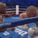 Mayweather stops McGregor in round 10 and surpasses Marciano's record 50-0