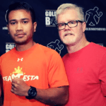 Mercito Gesta with Freddie Roach