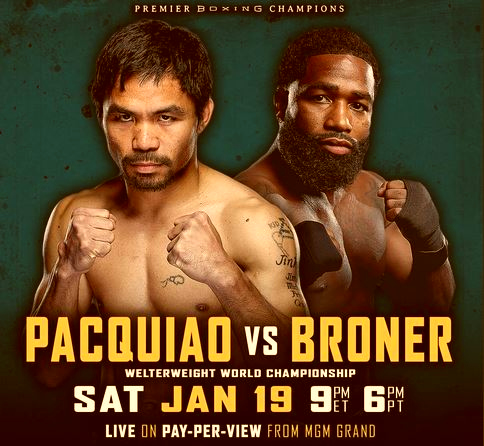 VIDEO: Manny Pacquiao vs Adrien Broner Media Workout Live Stream