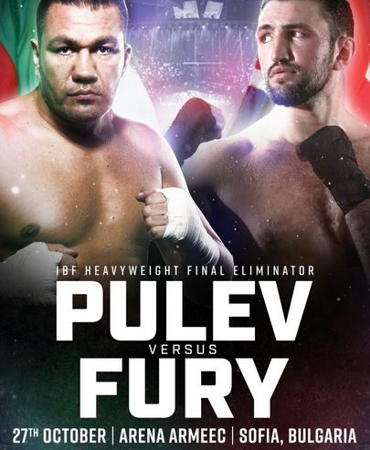 Pulev decisions Fury to earn IBF mandatory spot