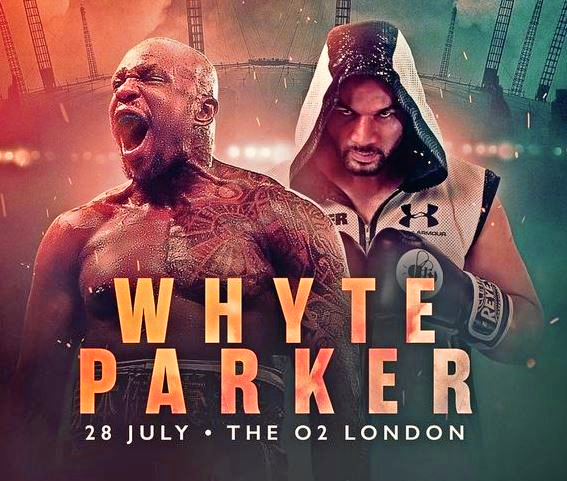 Dillian Whyte vs Joseph Parker Live Stream on Now TV