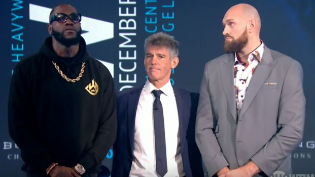 VIDEO: Deontay Wilder vs Tyson Fury London Press Conference