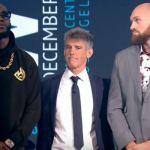 VIDEO: Deontay Wilder vs Tyson Fury London Press Conference