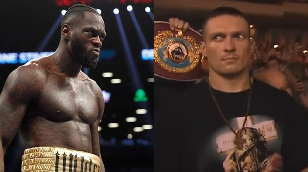 Deontay Wilder should drop down to cruiserweight and fight undisputed champ Usyk
