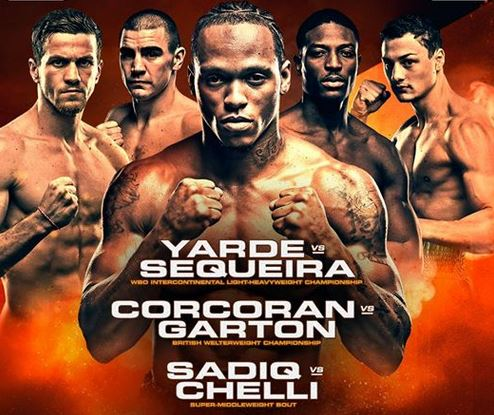 Anthony Yarde vs Walter Gabriel Sequeira Live Stream on BT Sport and ESPN +