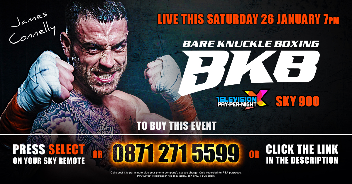 WATCH Bare Knuckle Boxing BKB 15 LIVE on January 26