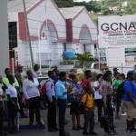 Commuters Left Stranded on Grand Anse Route