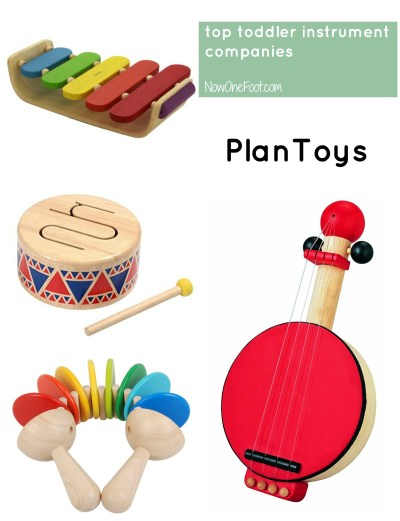 Top Toddler Instruments - PlanToys- Now One Foot
