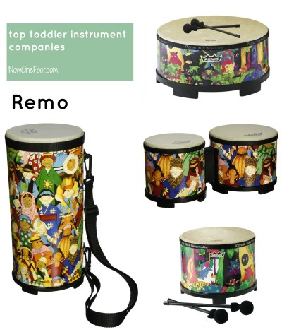 Top Toddler Instruments - Remo - Now One Foot