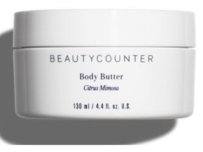Beautycounter Body Butter - DIY third trimester pampering