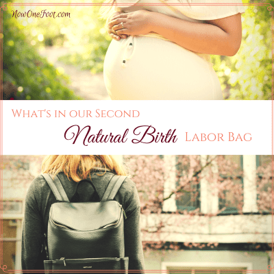 What's in your natural birth labor bag?